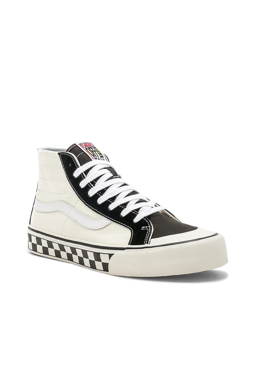 05ceab349434fd Vans Sk8-Hi 138 Decon SF in Black   White   Checker