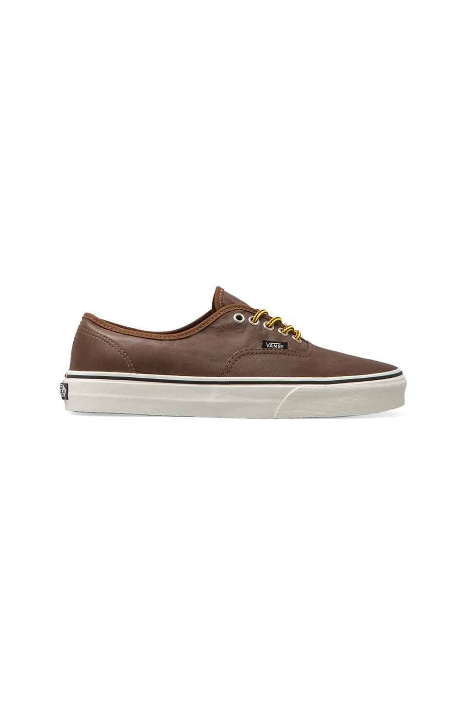Vans Authentic in Leather/Bison