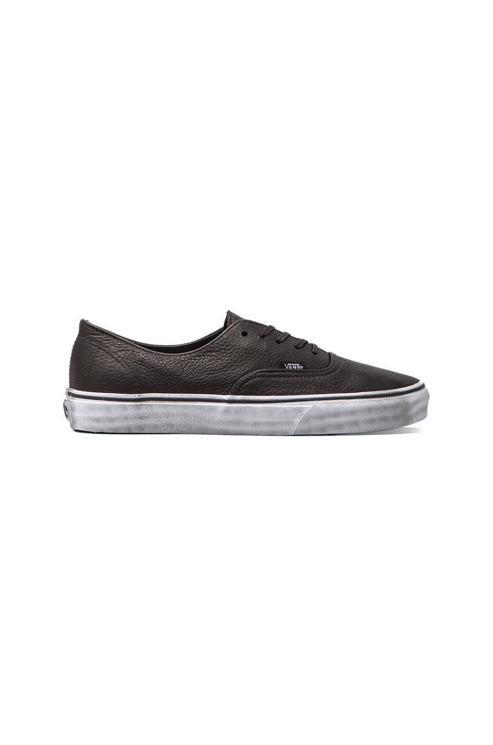 Vans California Authentic Decon Distressed in Black