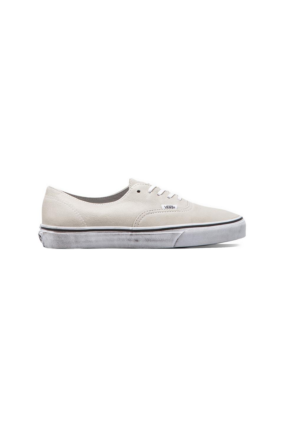 Vans California Authentic Decon Distressed in White