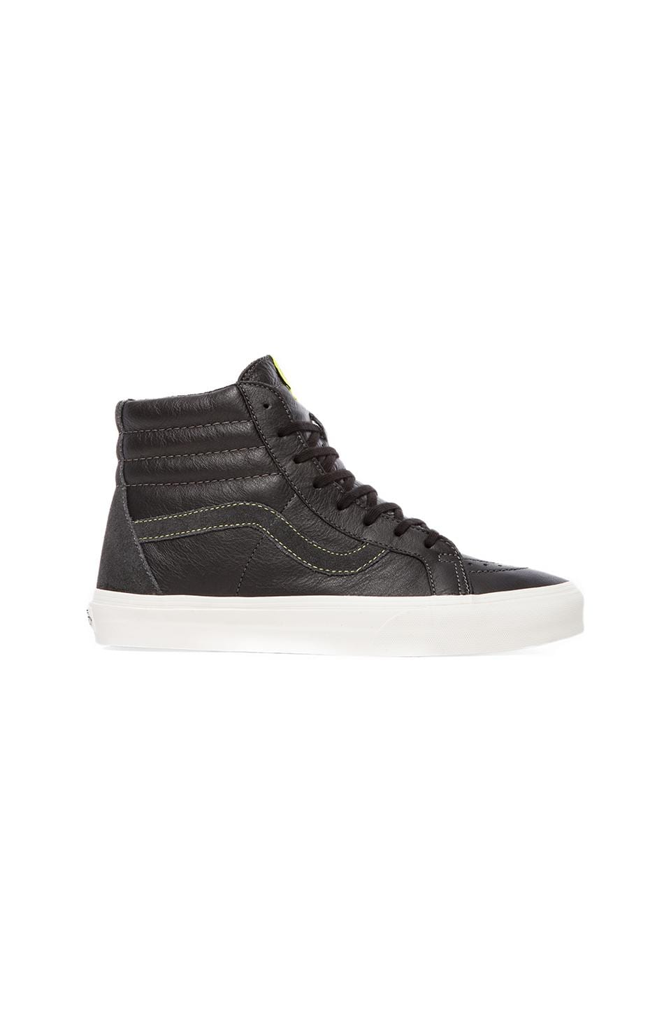 Vans California Sk8-Hi Reissue in Dark Shadow & Black