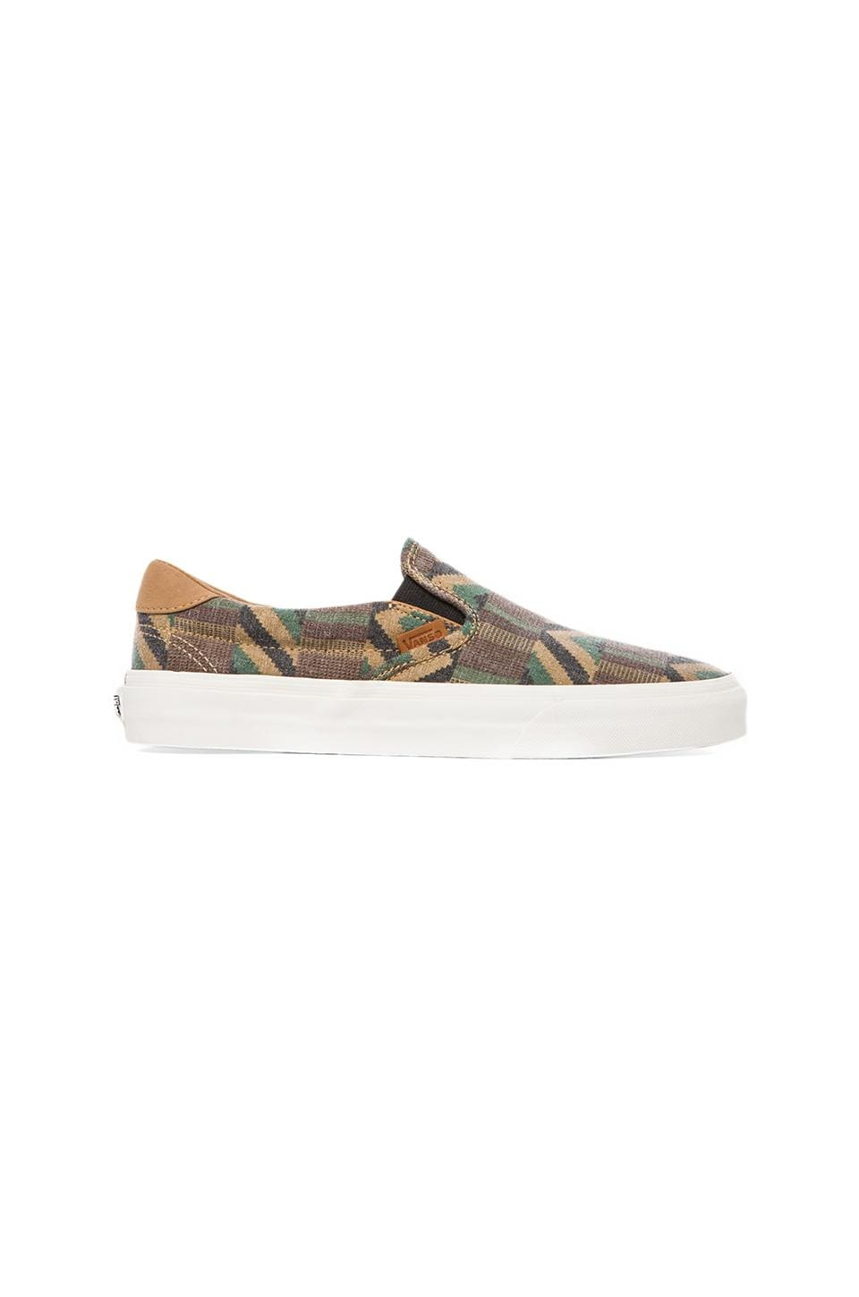 Vans California Slip-On 59 Cali Tribe in Khaki