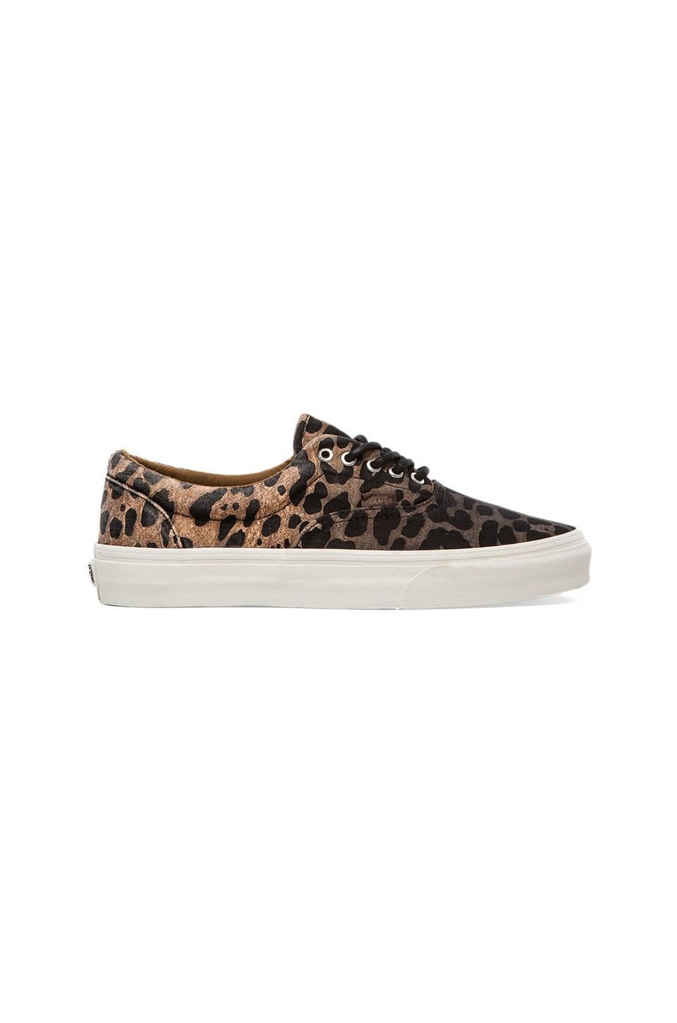 Vans California Era Ombre Dyed Cheetah in Black