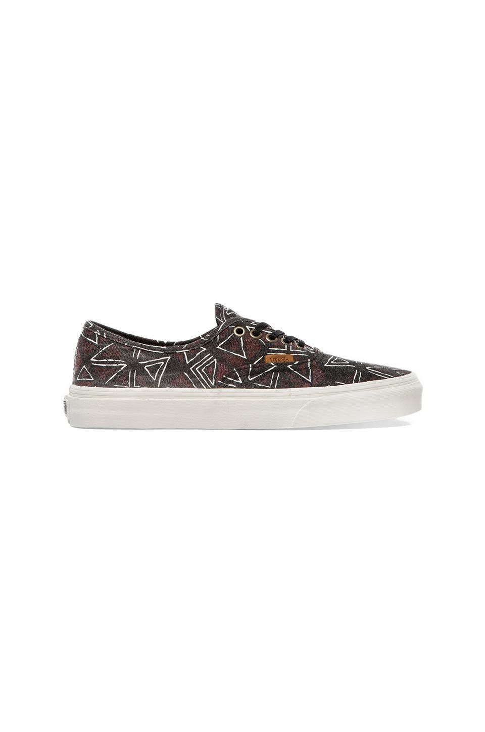 Vans California Authentic Geo Tribe in Black