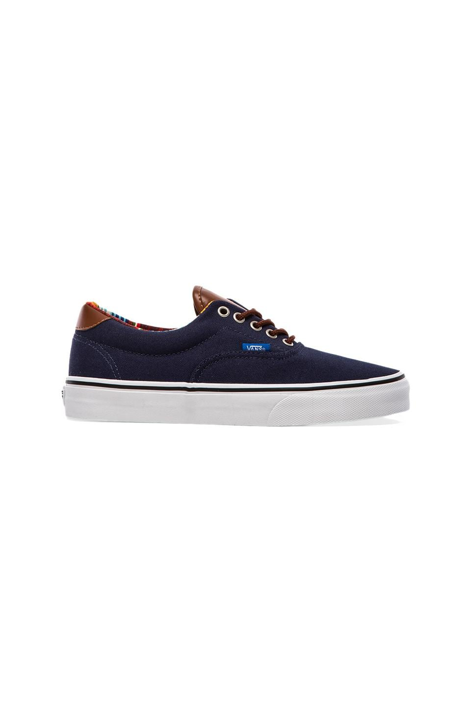 Vans Era 59 in Dress Blues & Multi Stripes