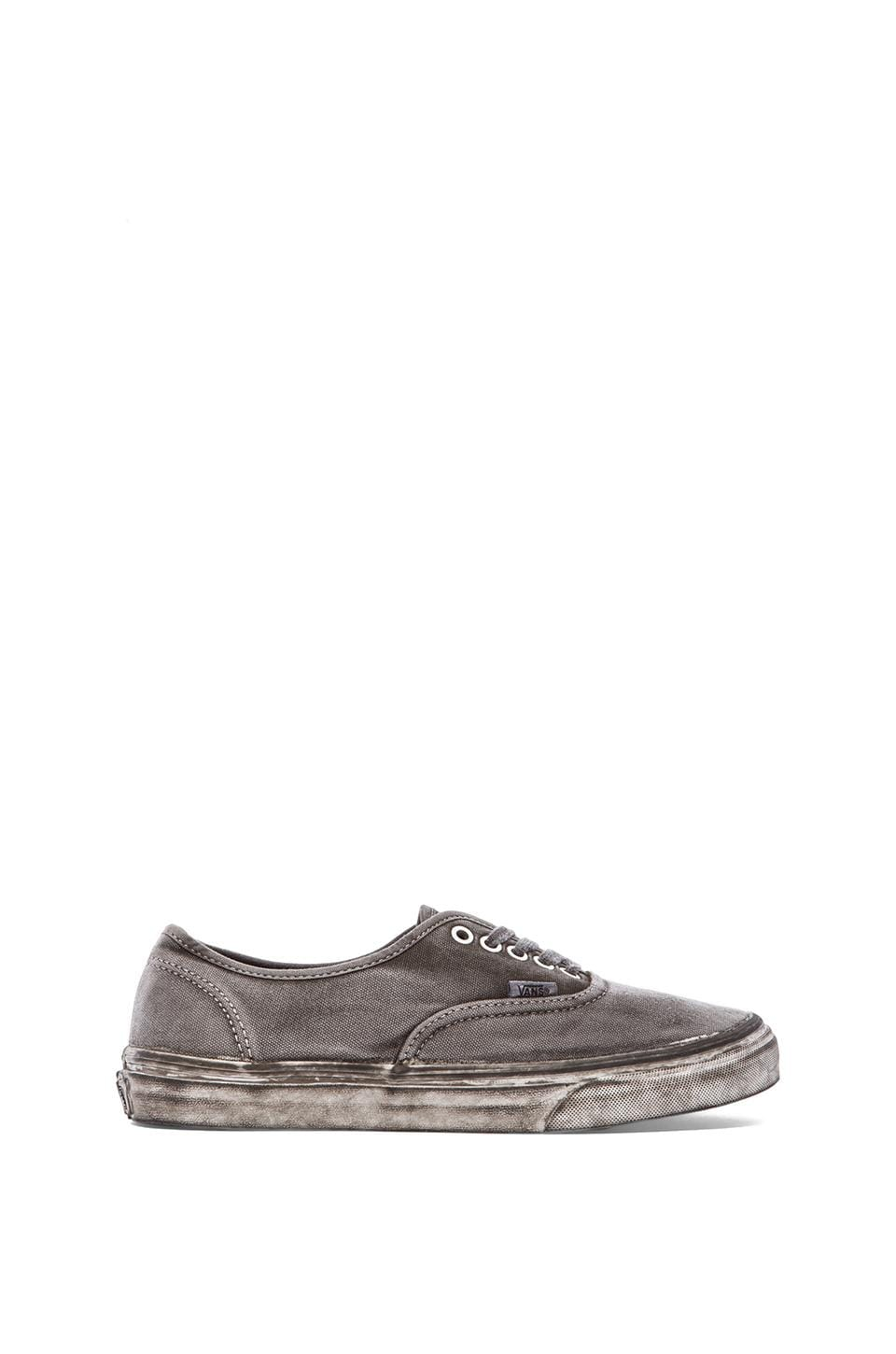 Vans California Authentic Over Washed in Black