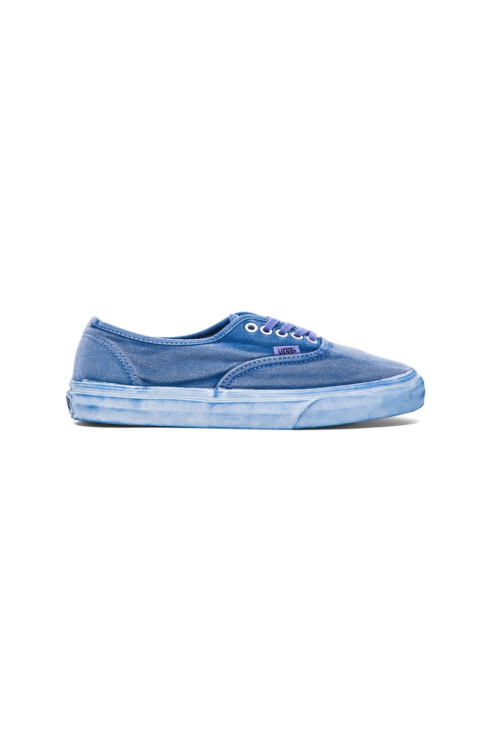 Vans California Authentic Over Washed in Dress Blues