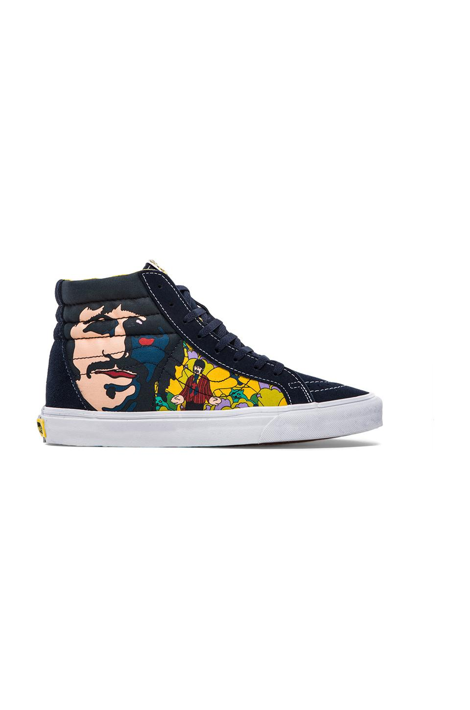 Vans Sk8 Hi Reissue The Beatles in Faces Dress Blues