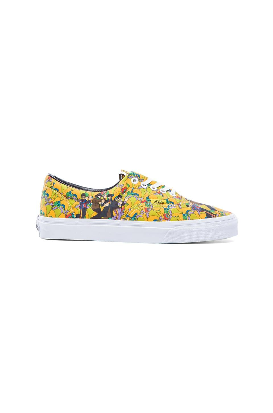 Vans Era The Beatles in Garden & True White