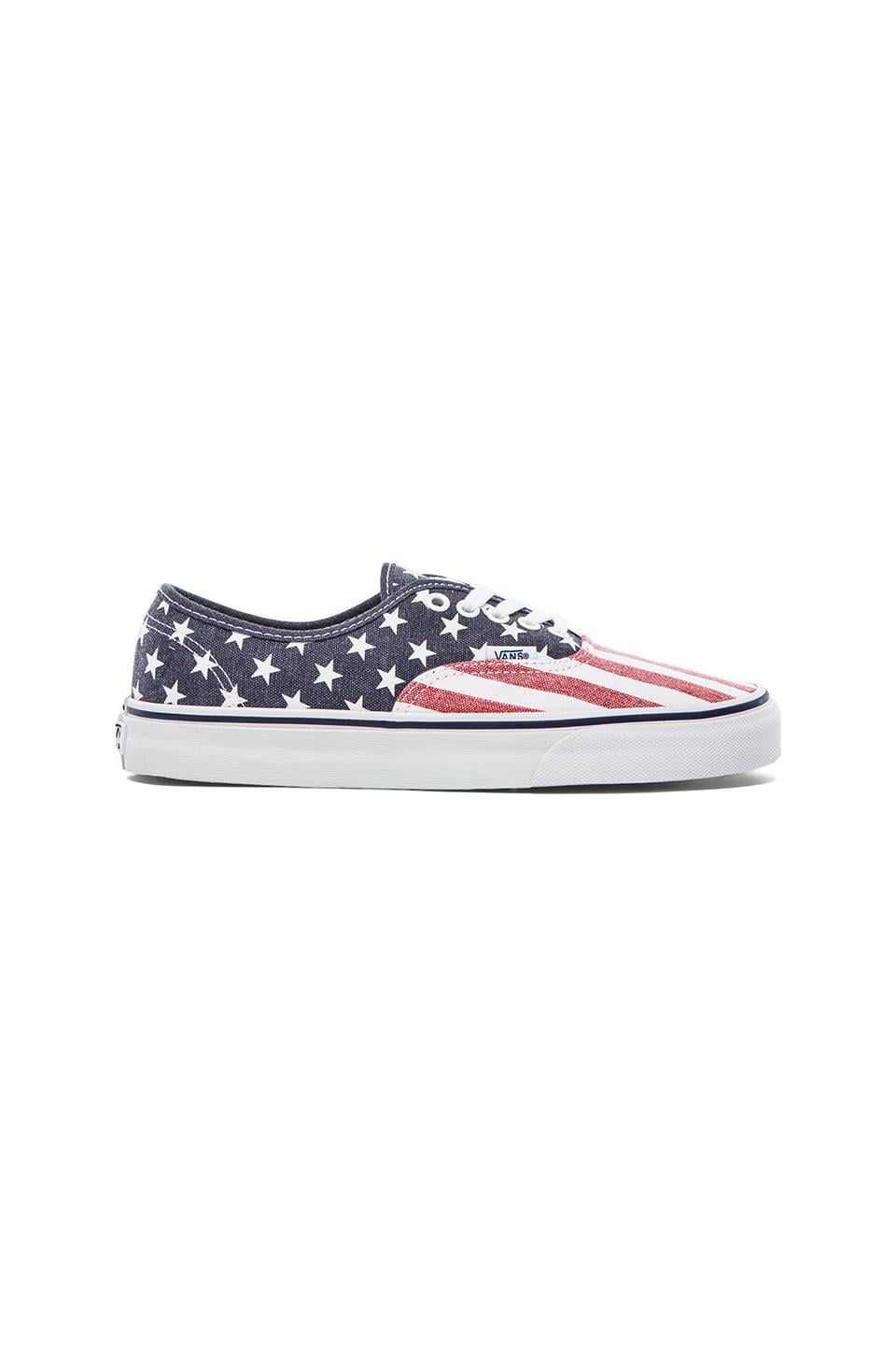 Vans Authentic Van Doren in Stars & Stripes