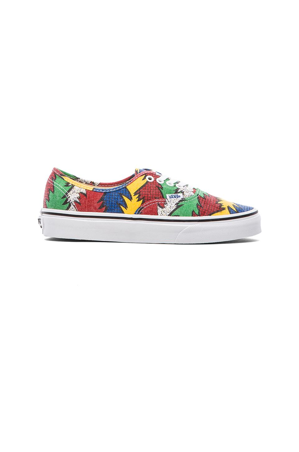 Vans Authentic Van Doren in 80s Box & Black