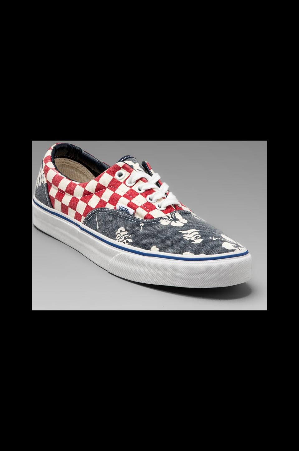 Vans Era Van Doren in Aloha/Checker