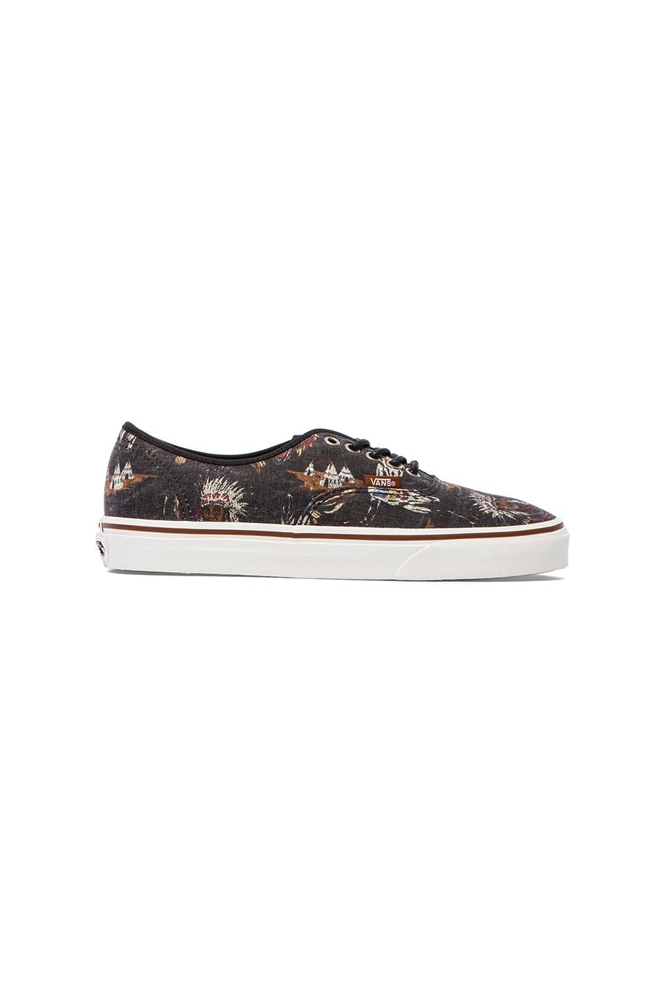 Vans Authentic Tribal Leaders in Black