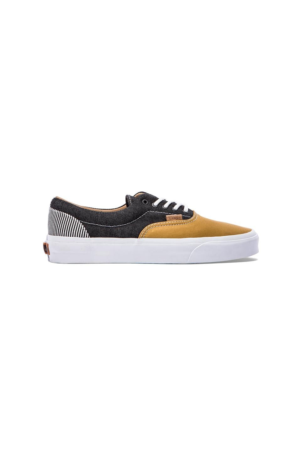 Vans California Era in Stripes & Honey Mustard