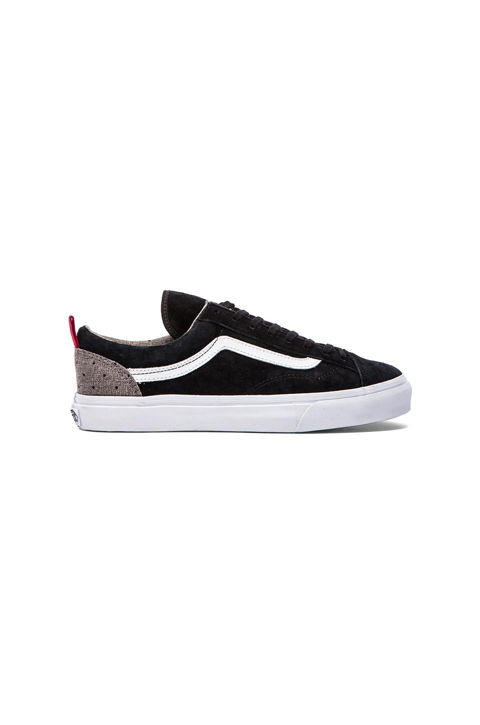 Vans California Style 36 in Black