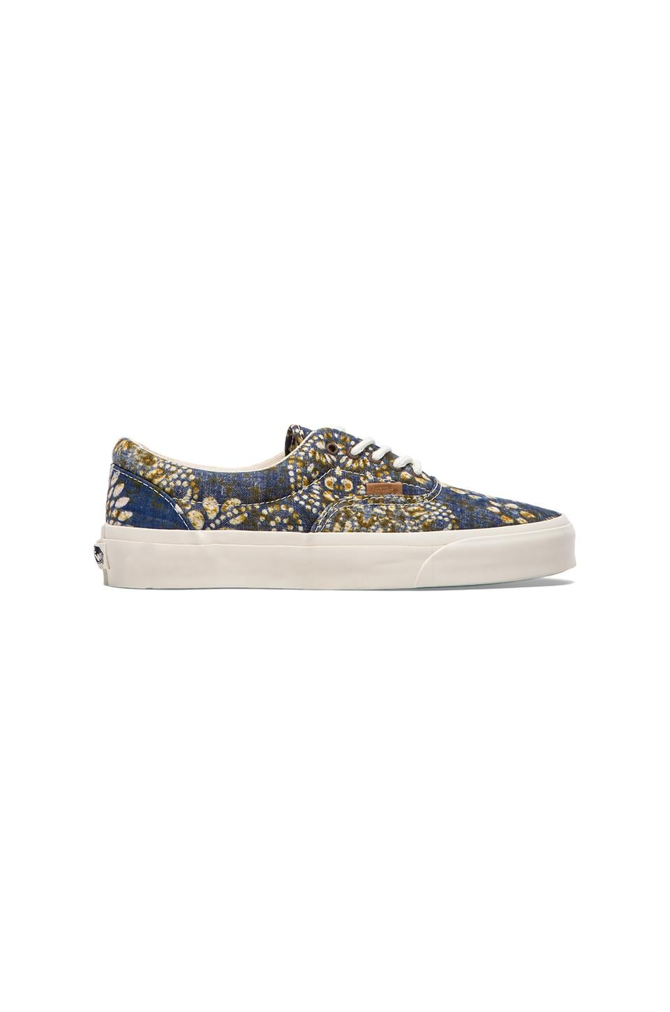 Vans California Era Batik Indigo in Dress Blues