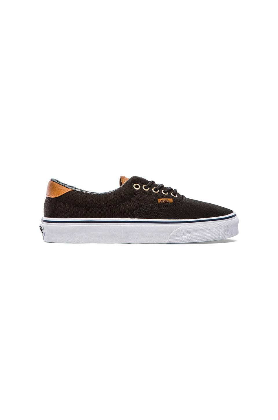 Vans Era 59 in Black & Washed
