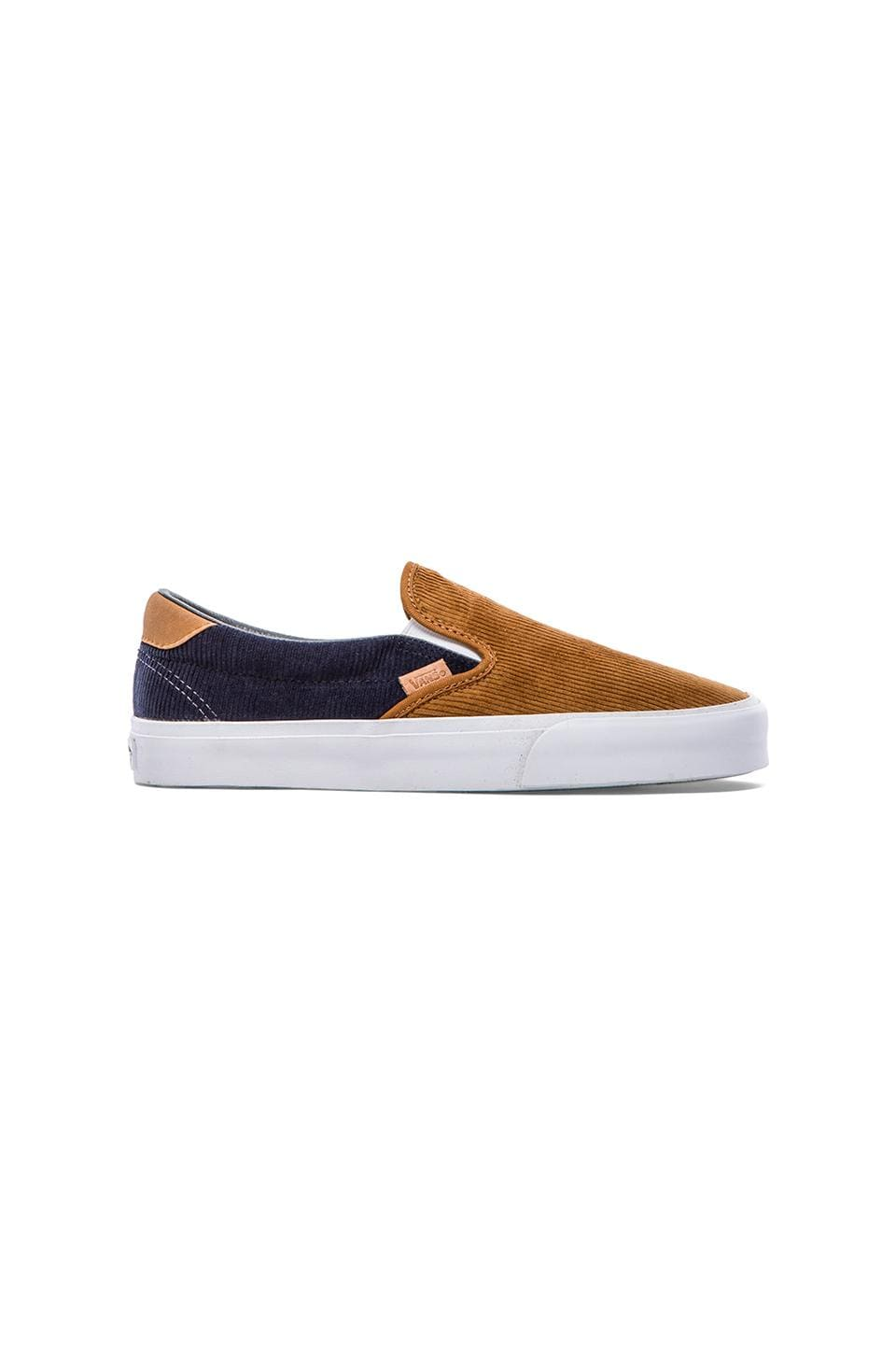 Vans California Slip On 59 Corduroy Mix Up in Cathay Spice