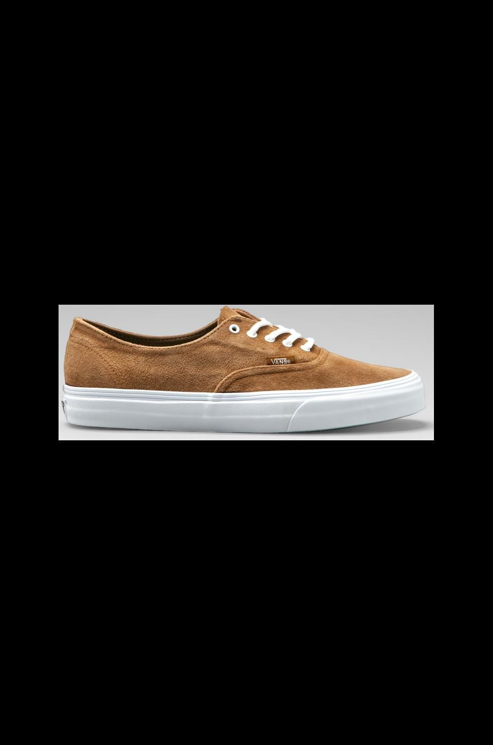 Vans California Authentic Decon Buck in Bronze Brown