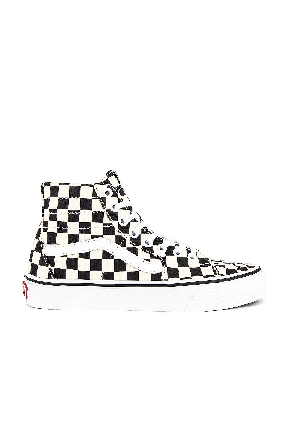 Vans Sk8-Hi Tapered in Black & True White