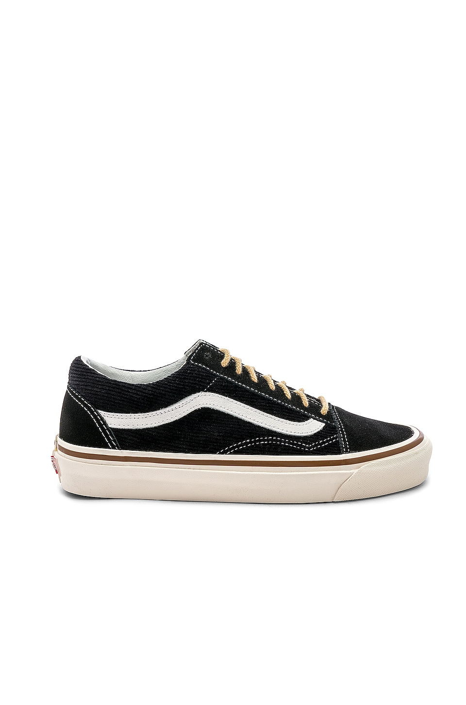 Vans Old Skool 36 DX in OG Black & Suede & Corduroy
