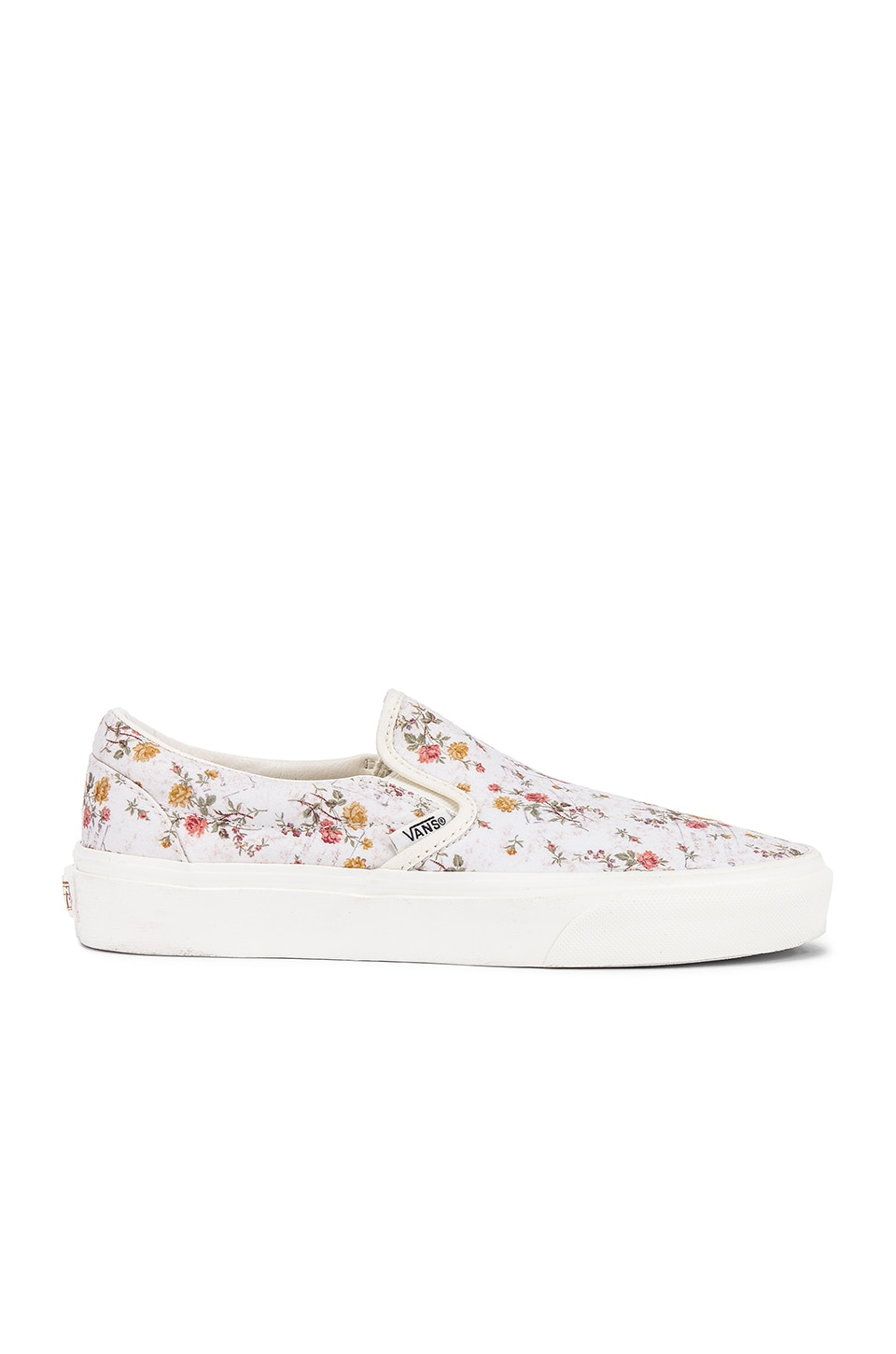 Vans Classic Slip-On in Floral & Marshmallow
