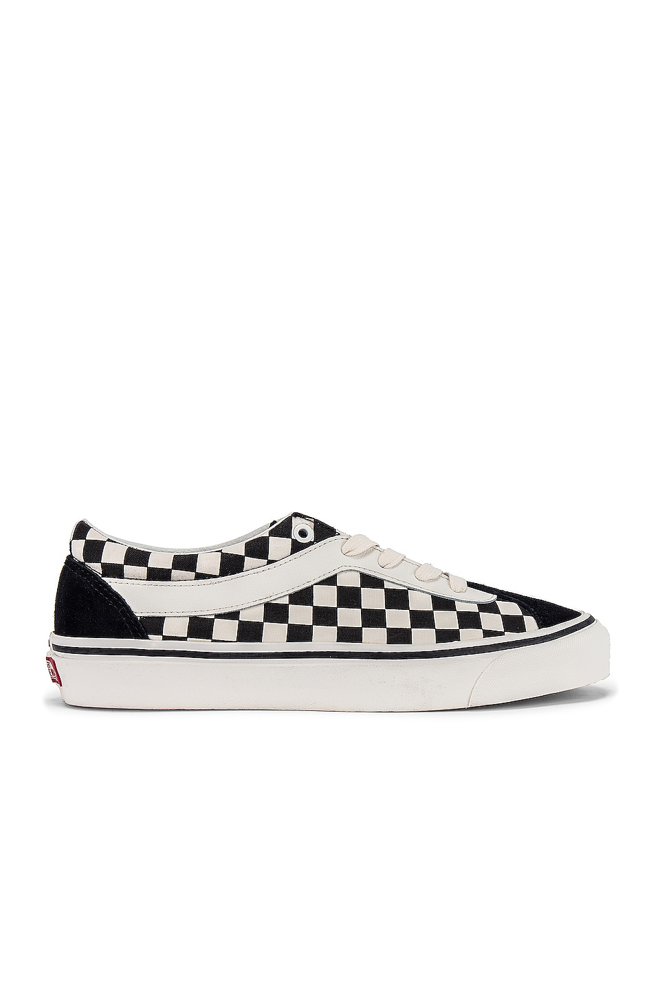 Vans Checkered Sneakers en Black & Marshmallow