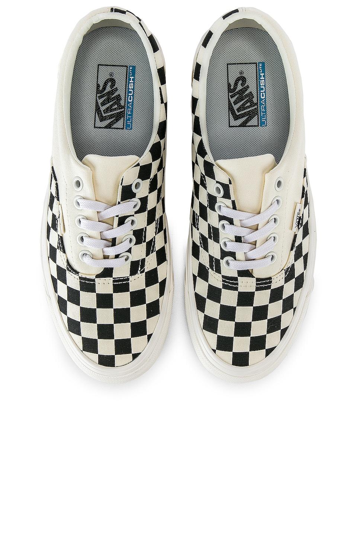 Vans Podium Era Sneaker in Checkboard & Black
