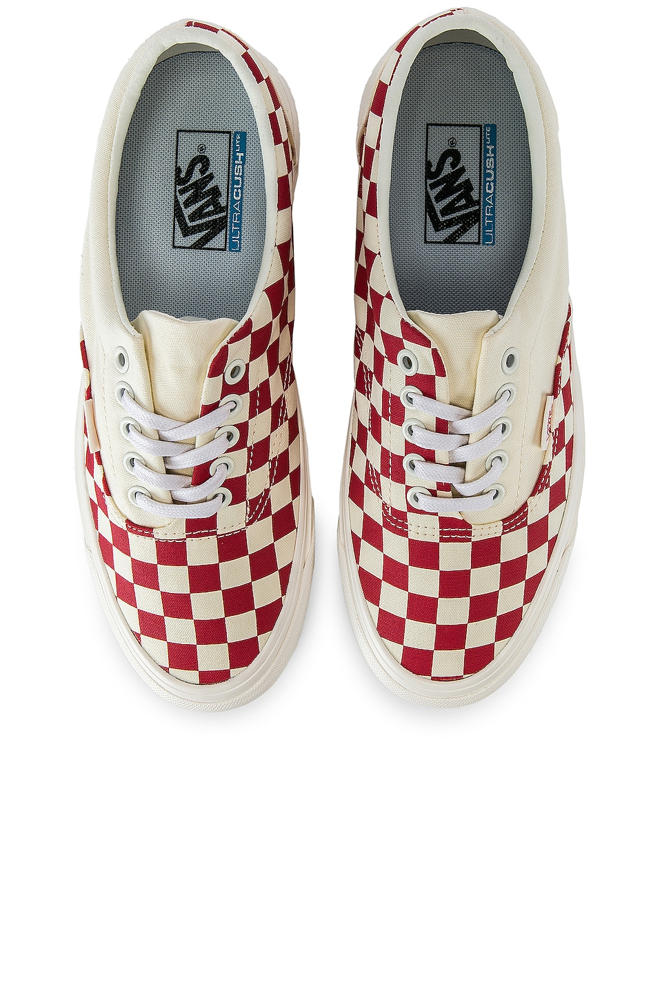 Vans Podium Era Sneaker in Checkboard & Racing Red