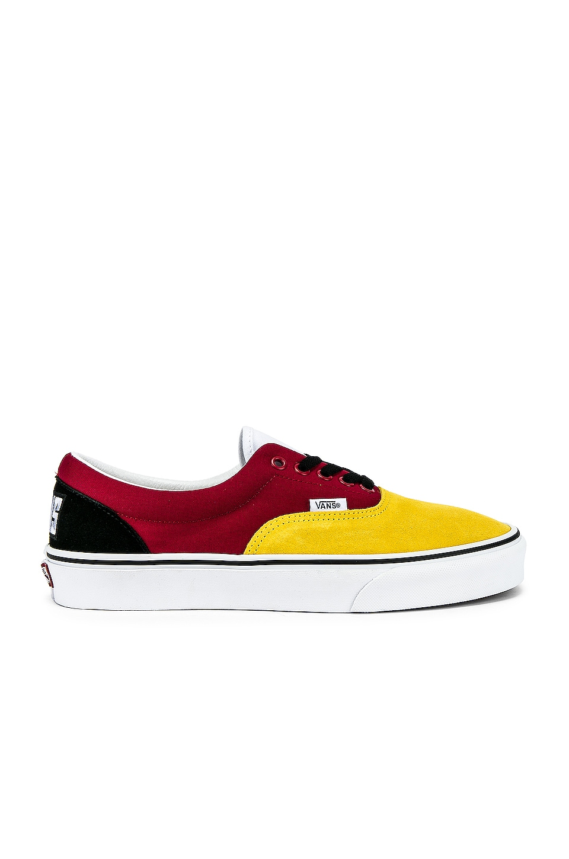 Vans Era in Vibrant Yellow & True White