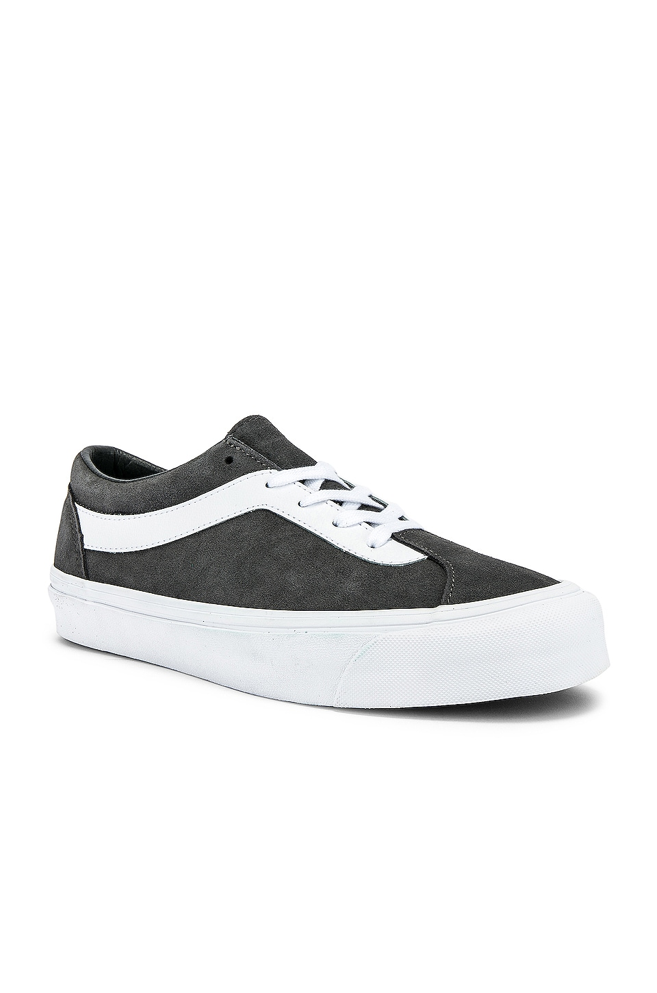 Vans Bold Ni in Pewter & True White