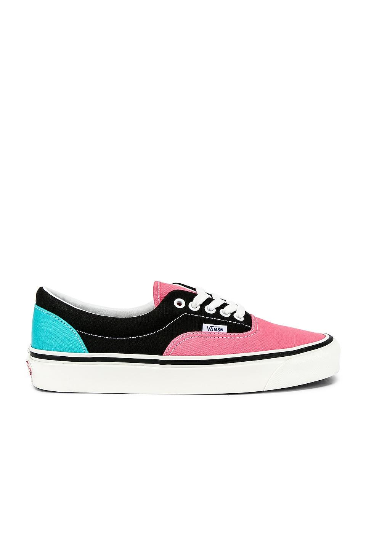 Vans Era 95 DX in OG Pink & OG Black & OG Aqua