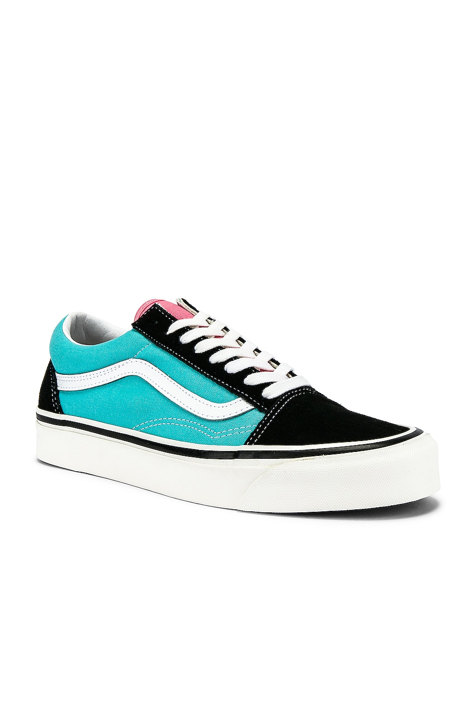 Vans Old Skool 36 DX in OG Black & OG Aqua