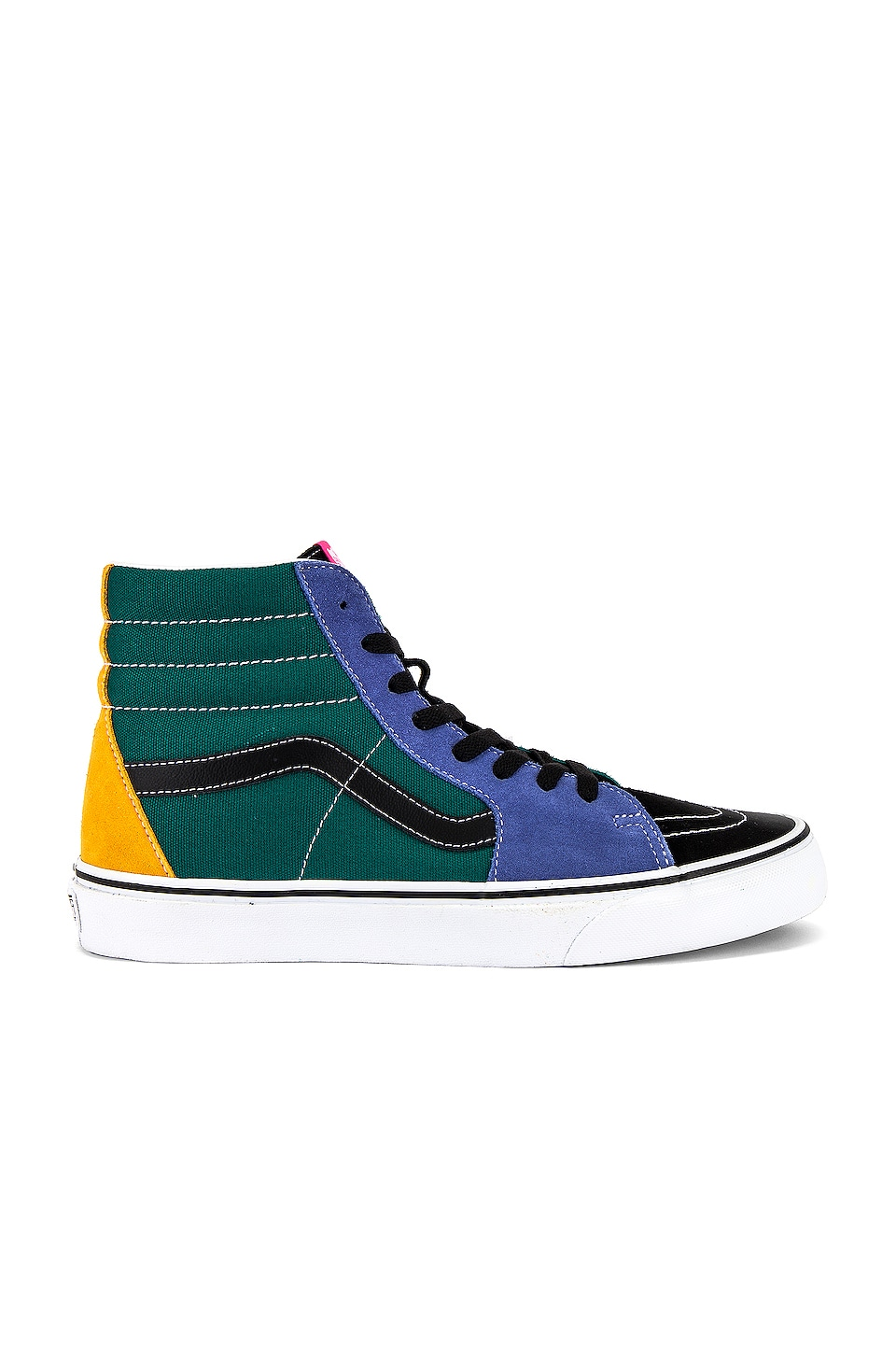 Vans Sk8-Hi in Cadmium Yellow & Tidepool