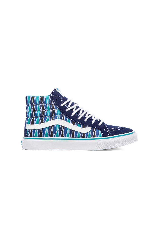 Vans Sk8-Hi Slim Sneaker in True Blue & True White