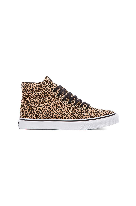 Vans Sk8-Hi Slim Sneaker in Herringbone