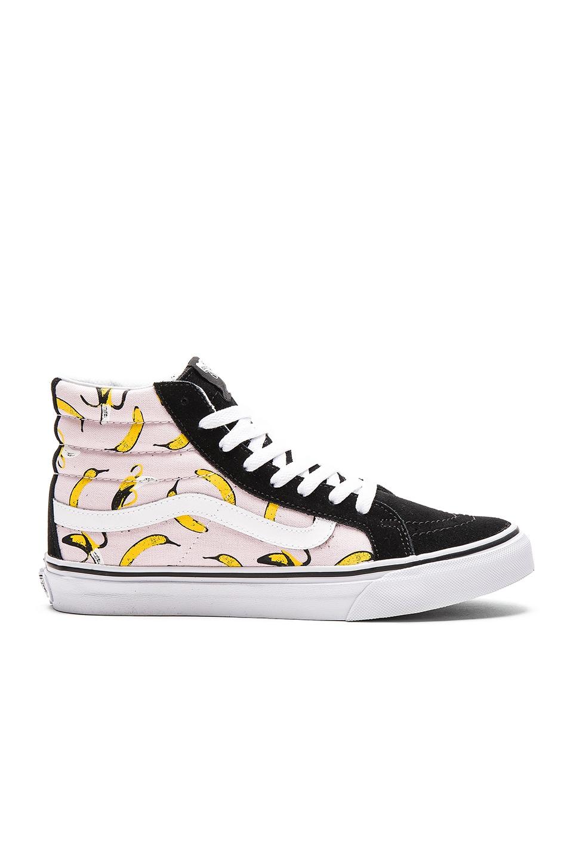 b01ef1b867 Vans Bananas Sk8-Hi Slim Sneaker in Ballerina   True White