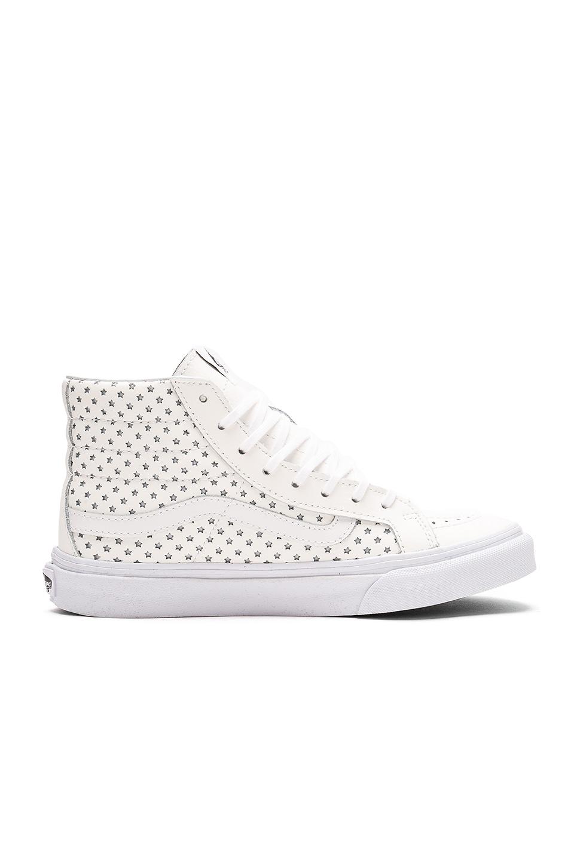 Vans Perf Stars Sk8-Hi Slim Sneaker in True White
