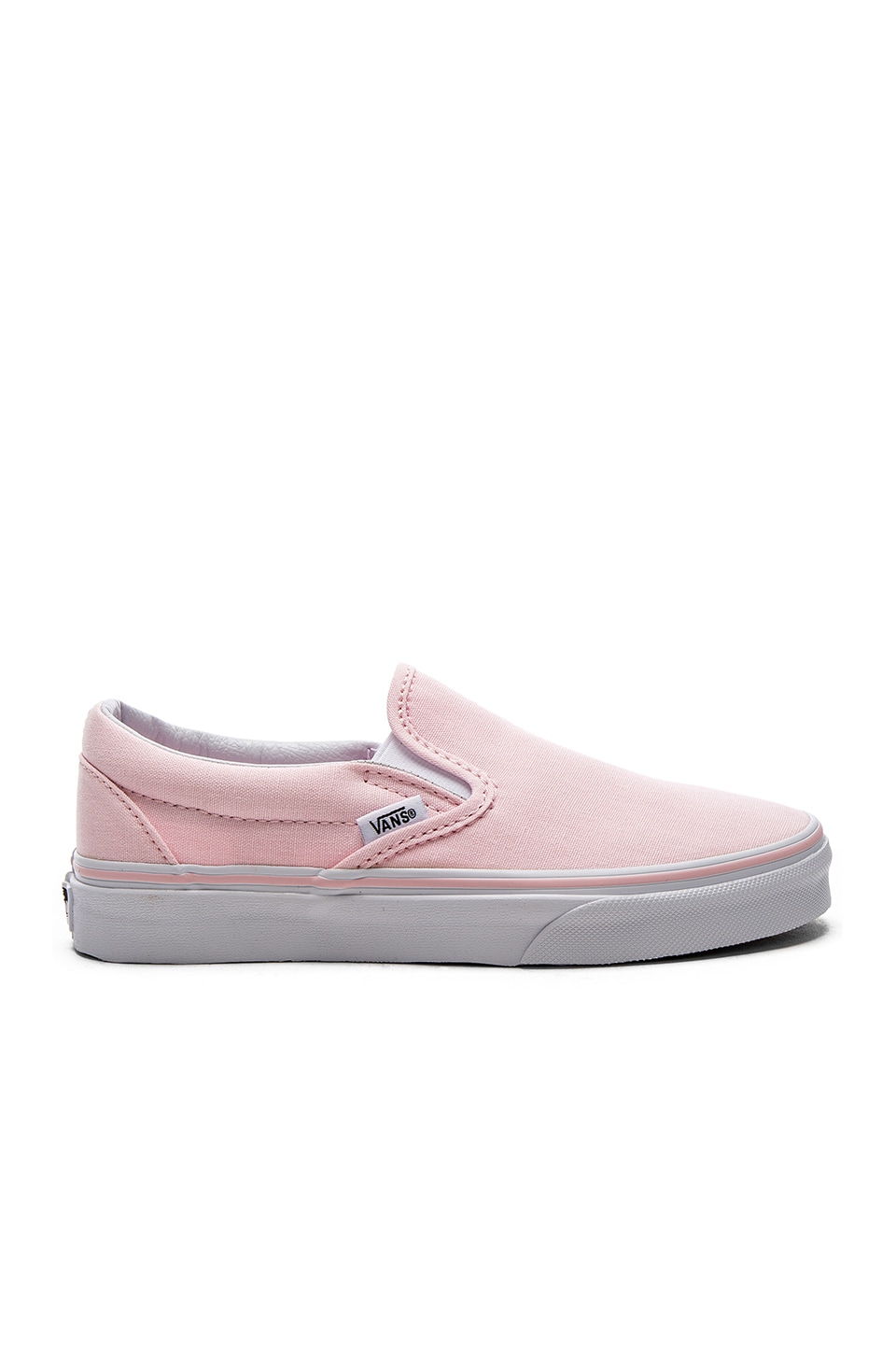 Vans Classic Slip-On in Ballerina & True White
