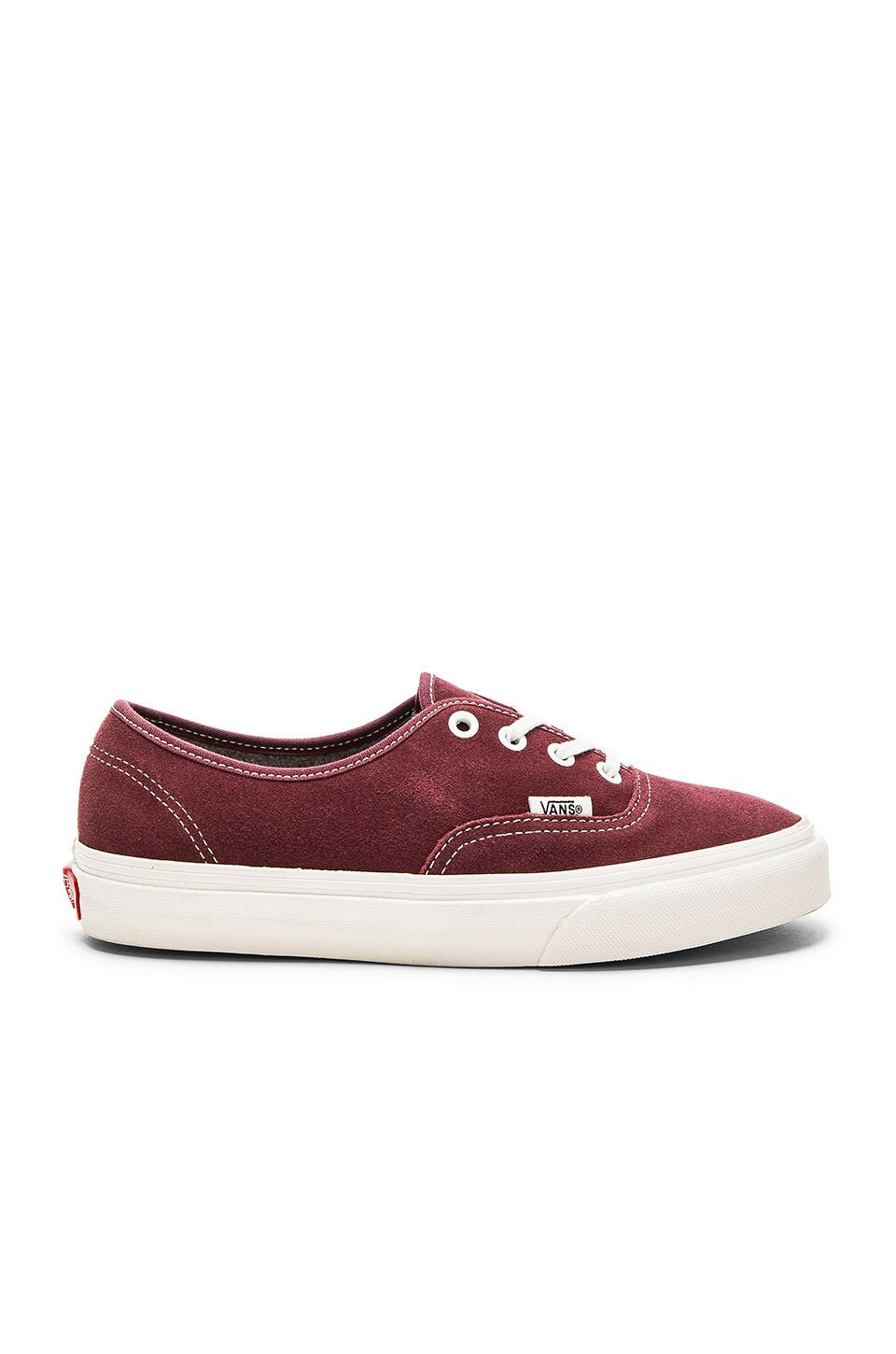 Vans Authentic Sneaker in Red Mahogany