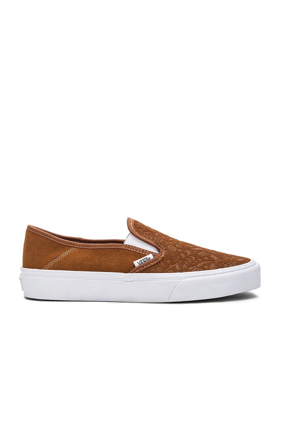 Vans Slip On SF Sneaker in Monks Robe & Flora