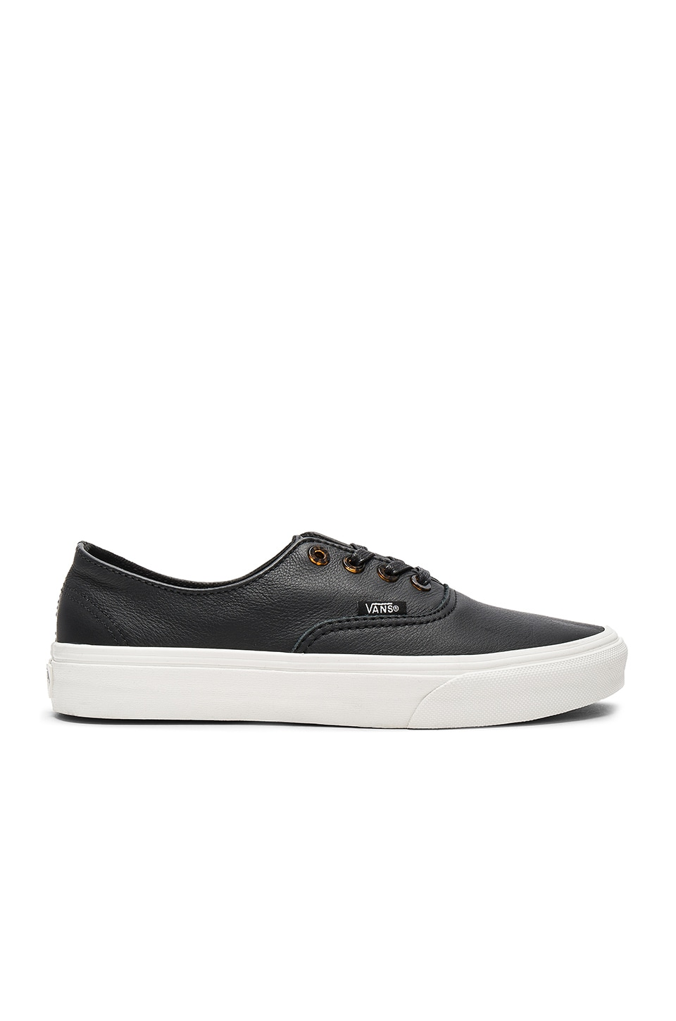 Vans Authentic Decon Sneaker in Black & Blanc De Blanc