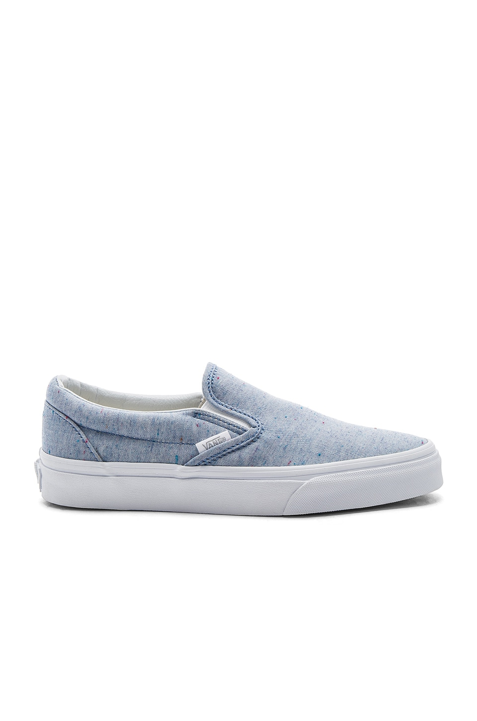Vans Classic Slip-On Sneaker in Blue & True White