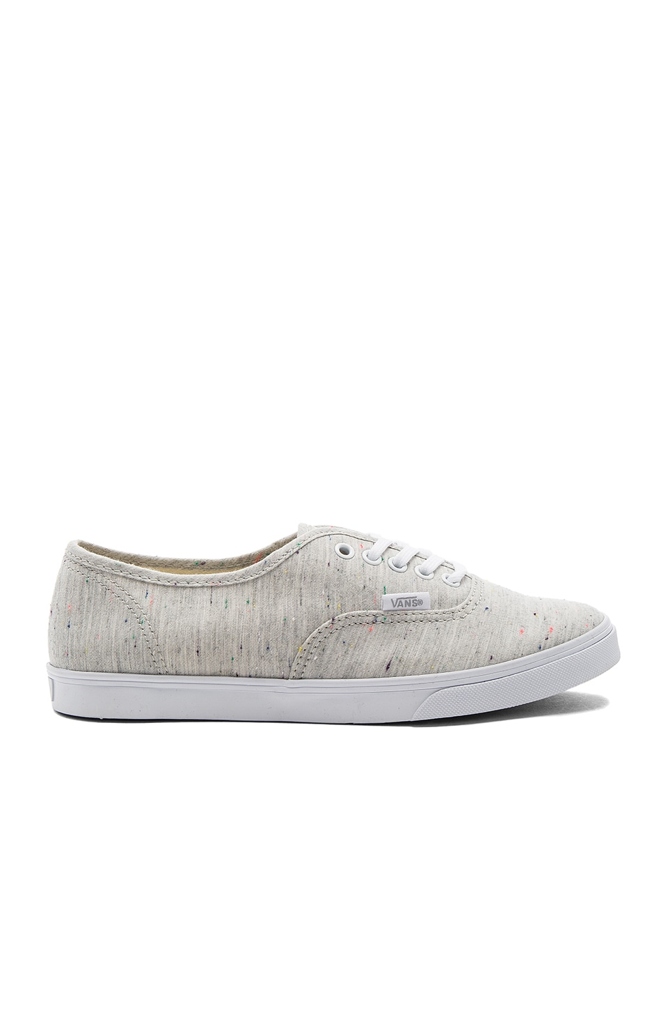 Vans Authentic Lo Pro Sneaker in Gray & True White