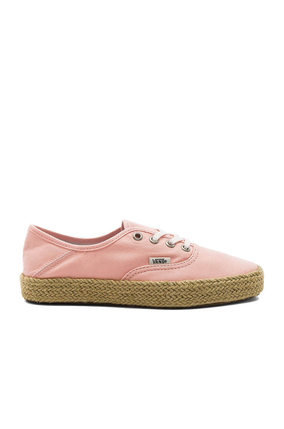 Vans Authentic Espadrille in Tropical Peach