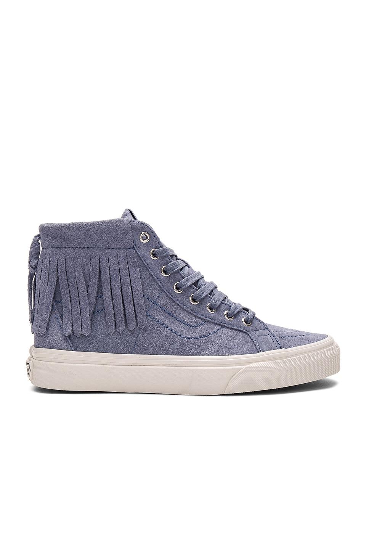 Vans SK8-HI Moc Sneaker in Infinity & Blanc De Blanc