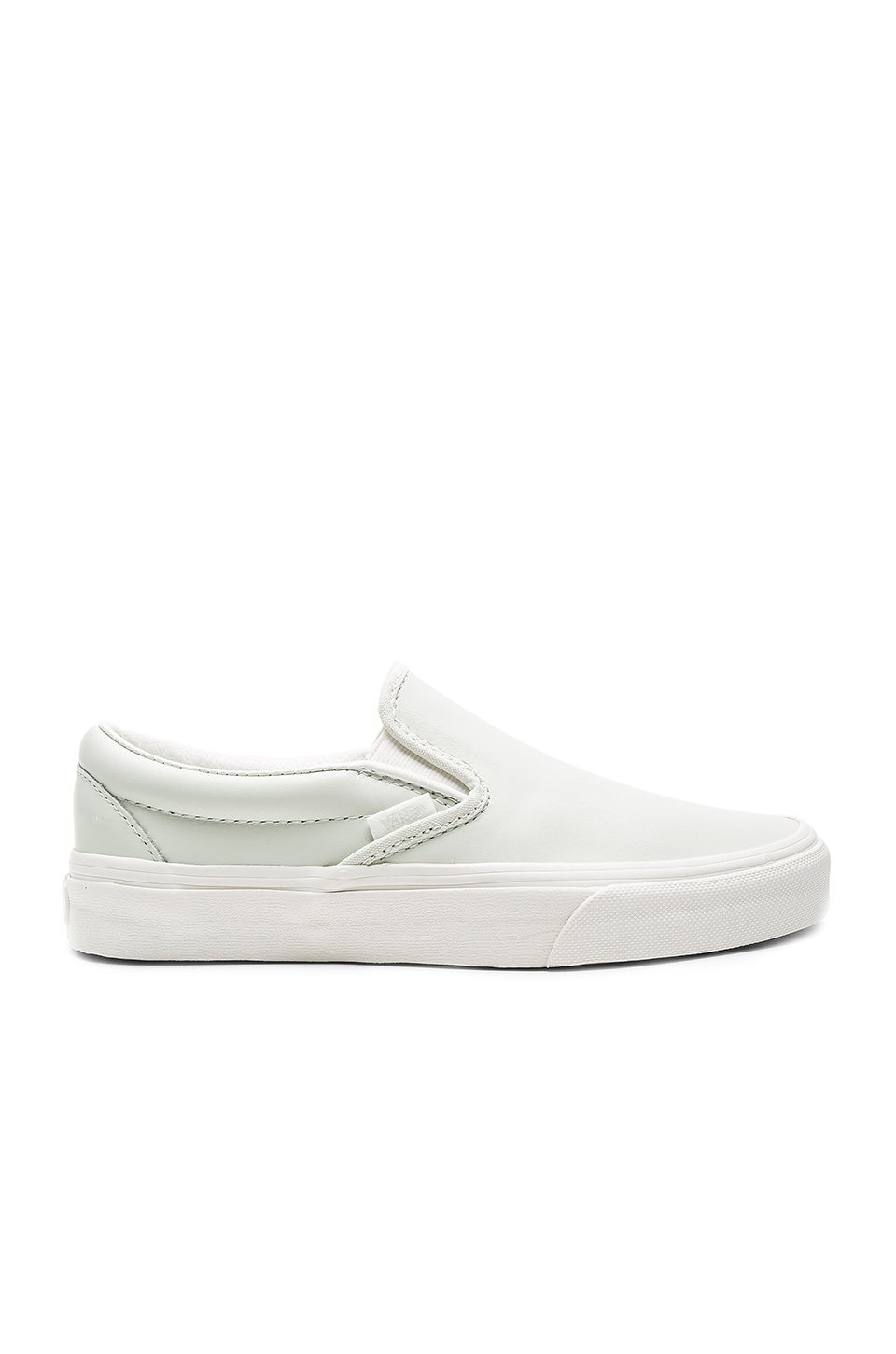 Vans Classic Slip-On Sneaker in Blue & Blanc De Blanc