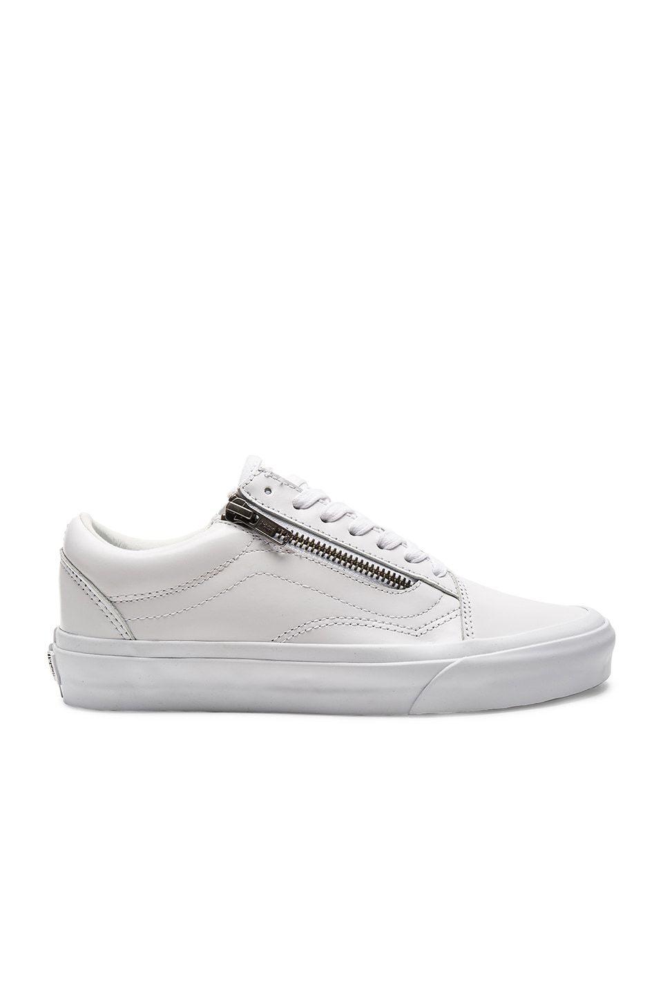 Vans Old Skool Zip DX Sneaker in True White