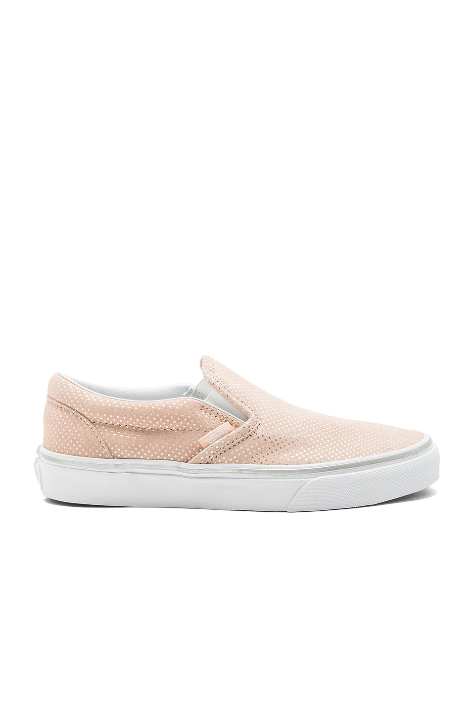 Vans Classic Slip-On Sneaker in Rose & Spanish Vanilla