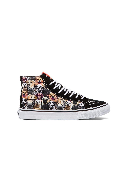 Vans Sk8-Hi Slim Sneaker in Dogs